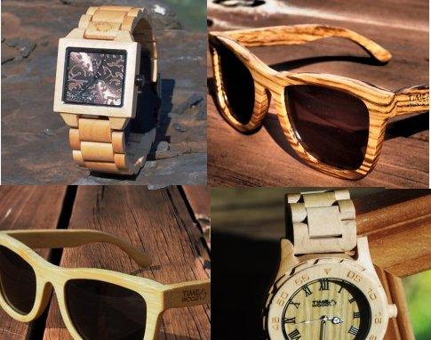 drevene hodinky